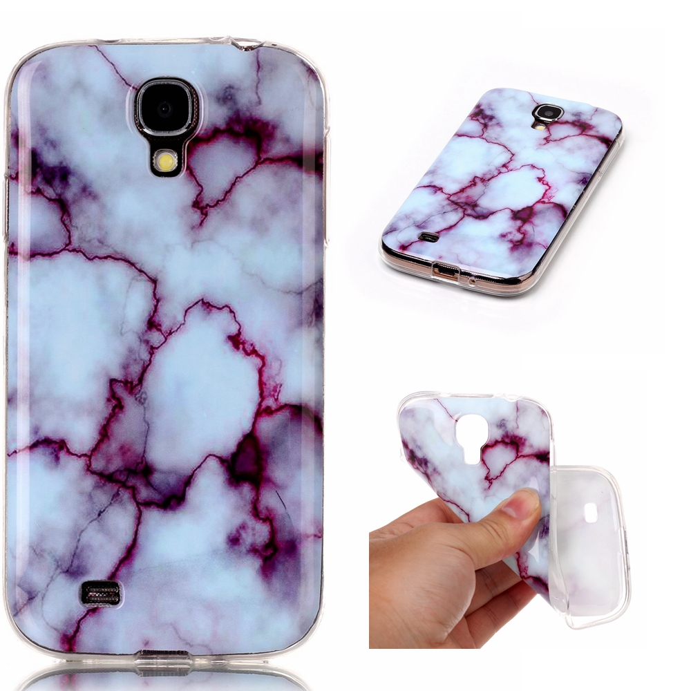 New TPU Gel Phone Protective Slim Cover Marble Back Case for Samsung Galaxy S4 i9500