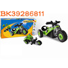 Hot sale 39pcs creative 3D puzzle DIY plastic building blocks motorcycle toys BK39286811