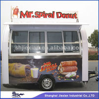 JX-FS290D Practical Customized Design Outdoor Mobile Donut Vending van