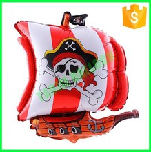 Customized Pirate ship foil Balloon