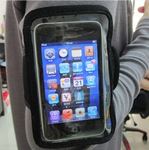 Wholesale Double Pockets Sport Neoprene Smartphone Armband For Any Style Mobile