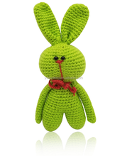 Hot !!! sunking new coming 100% cotton mini wool knitting rabbit baby gift and doll toy
