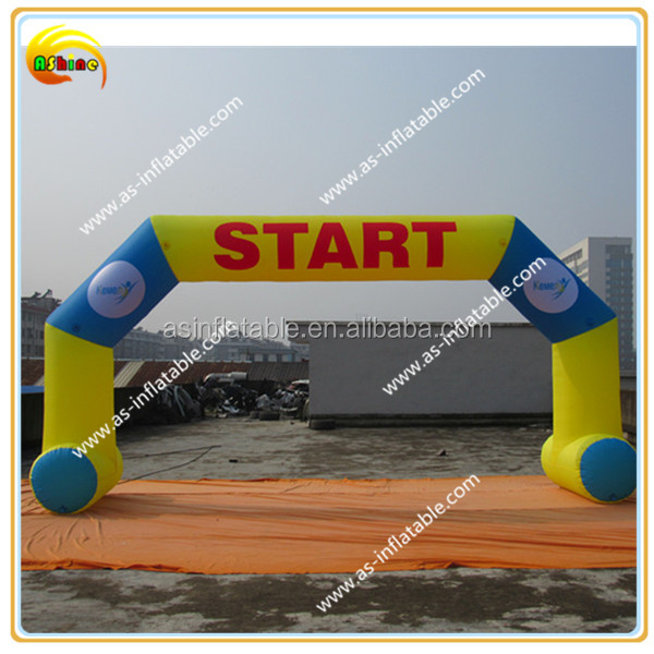 outdoor inflatable entrance arch