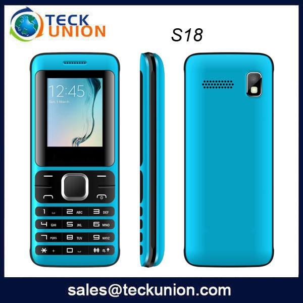 1.8inch high quality cheap price china basic mobile phone S18
