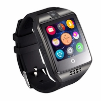 New arrival Q18 touch screen smart watch, android smartwatch phone with watch phone android carma watch mobile q 18