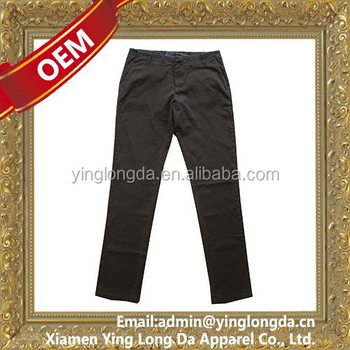 Top grade hot selling formal pants for girls