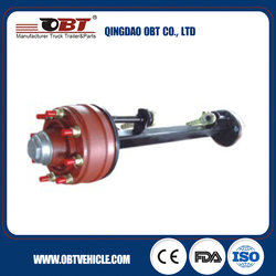 trailer axle for agricultrue, truck parts, trailer parts
