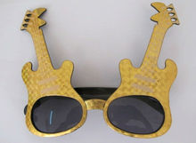 2012 Hot Sale Carnival Party Guitar Sunglasses