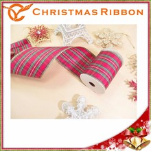 Woven Xmas Ribon For Tree Garland Or Centerpieces