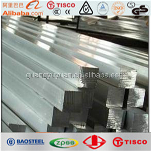 ASTM 201 stainless steel square bar