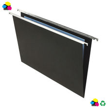 Black Foolscap Suspension File Folder Heavy Duty 10 Pack A4/ FC