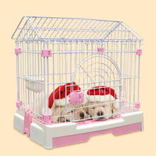 Dog cages with toilet steeple or flat top pet cages