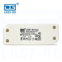 Plastic case ac dc SMPS circuit industrial power supply 9w 12w 18w cob led driver