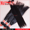 Vipsister bundle hair vendor virgin indian straight hair extensions guangzhou