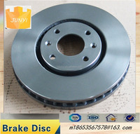 Gray parts vented brake discs, funny car accessories