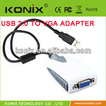 vga to rca adapter for video display