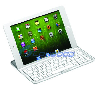 "Wireless Aluminium Bluetooth 3.0 Keyboard For iPad mini 7.9"" Tablet PC"