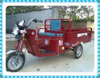 Prominent 250cc motorized big wheel tricycle for cargo