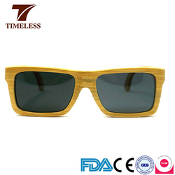 Factory Made Cheap Pure Bamboo Wooden Sunglasses