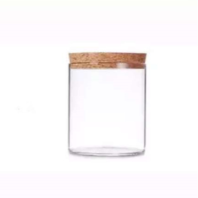 <strong>3</strong> oz transparency spaghetti nuts glass jar with cork lid