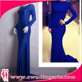 In Stock Item Sheath Strapless Floor-length Solid Arabic Style Prom Dresses
