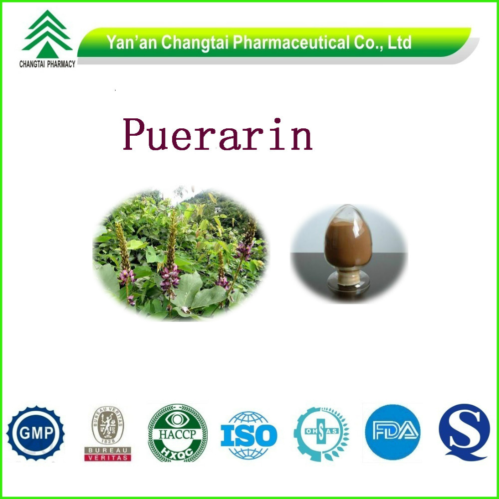 High quality and natural Puerarin from Pueraria Root Extract 40% 60% 70% 80% 98%