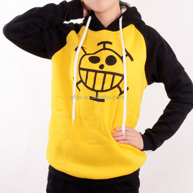 The New Anime One Piece Luffy Clothing Hooded Sweatshirt Jacket Cosplay Hooded