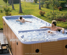 outdoor used large Swim Spa /family swimming Spa / Massage Swim