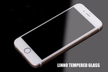 For iphone 6 0.3MM 2.5d round edge HD clear tempered glass screen protector for iphone 6 plus by DHL free shipping