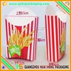 small recycle paper bag for snacks&greaseproof french fries paper bag