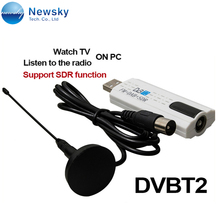 dvb-t2 dvb-c usb tv card for laptop with TV/FM/SDR function