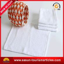 comfortable towel for airplane cotton bath high quality aviation