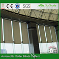 Construction Customized Ready Made Automatic blinds with tubular motor for office