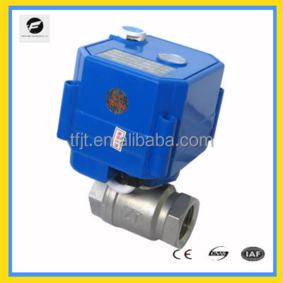 "Mini 2 way 3/4"" bsp actuator valve CWX-Manual operation for Irrigation system,cooling/heating system,Low voltage plumbing system"
