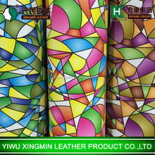 New design PVC synthetic /artificial /imtation decoration leather for bags and luggage