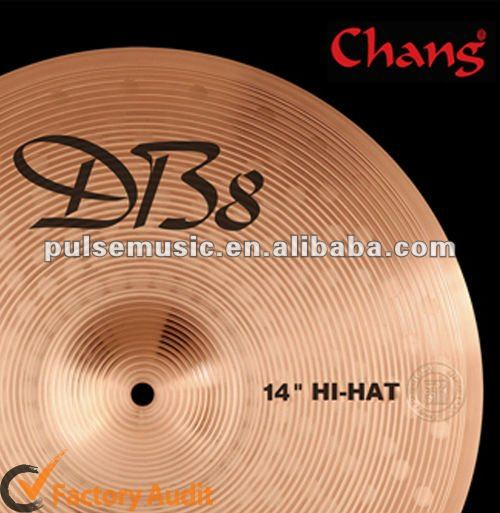 Hot Sale Chang DB8 16''China Cymbal Wuhan Cymbals For Percussion Instrument