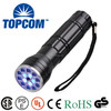 15+1 LED flashlight,UV+ Red Laser+White LED Laser Flashlight