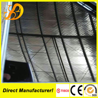 304 super mirror black color stainless steel sheets with 8C PVC