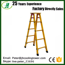 Insulation FRP Fiberglass Trestle Ladder