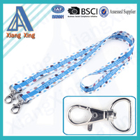 China Wholesale Sublimation Printed Stain Lanyard for 2015 Sale