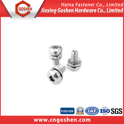 Stainless steel Trox head combination machine screw