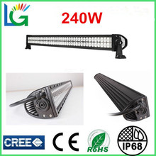 China Wholesale 44'' CREE LED Light Bar 12V 24V Green Truck LED Lights 240W