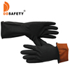 Popular Portable China household black latex gloves