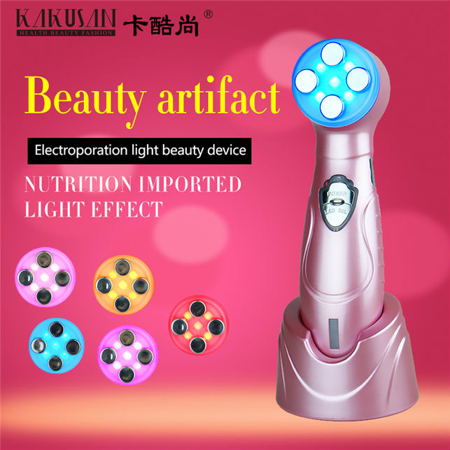 Portable EMS & Electroporation facial fitness Beauty Device