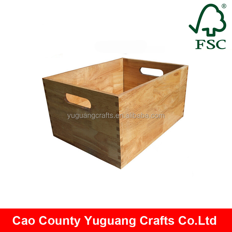 Alibaba wholesale cheap wooden apple crates wholesale for Buy wooden fruit crates