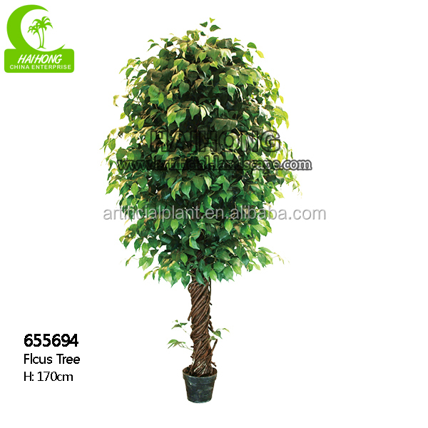 Factory price of all kinds of ficus tree for outdoor/indoor artificial decorative tree for sale