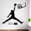 New Vinyl Sticker basketball boy bedroom living room decorative wall stickers stickers wholesale custom removable waterproof