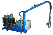 High pressure fireproof pu foam spray machine