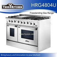 Pro-Style used stainless steel appliances gas oven