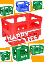 24/12/20 BOTTLES more sizes and colors plastic wine bottle crate/box